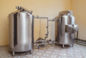 Micro brewery 200 liters per brew